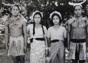 Car Nicobar Island tribe