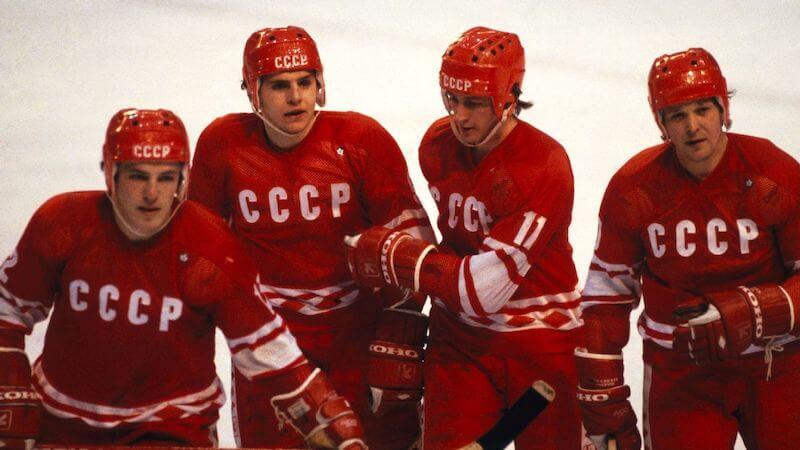 Russian Olympic Hockey team 1980