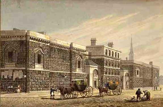 West View of Newgate by George Shepherd 1784-1862