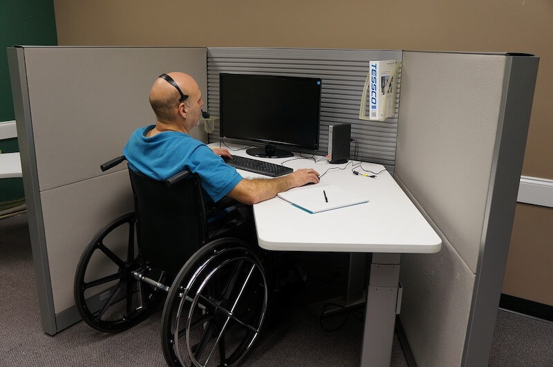 call center disabled veteran