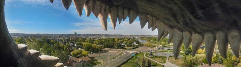 dinosaur drumheller observation deck