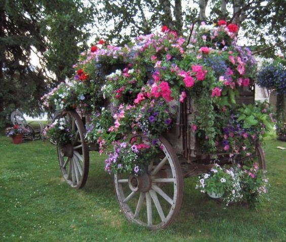 planted wagon