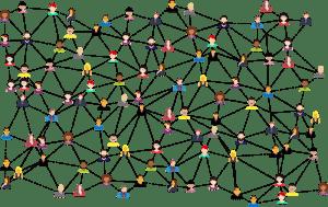 social media network of people