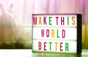 make the world better charity